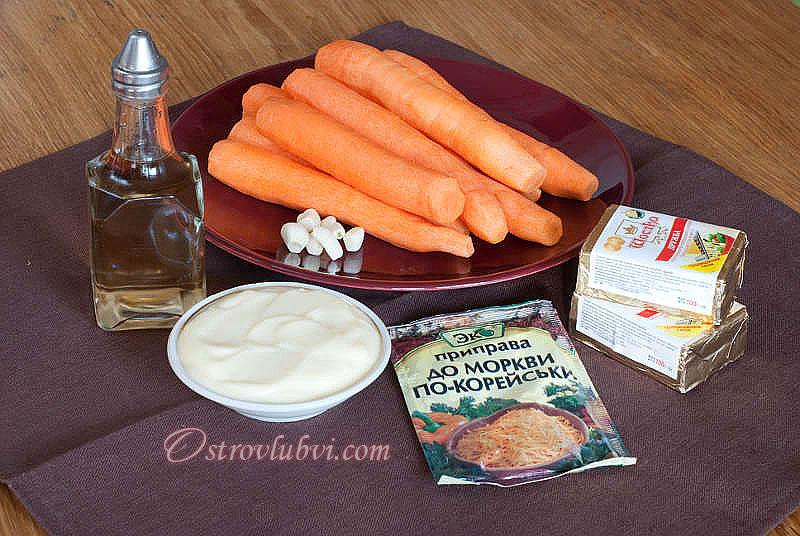 Салат из моркови с сыром 2