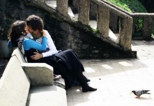 Поцелуй по французски