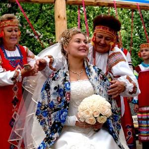 Настоящая русская свадьба