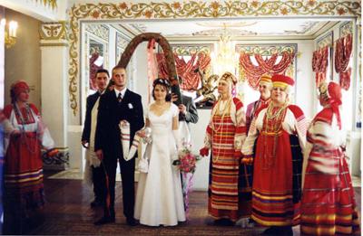Традиции русские на свадьбу