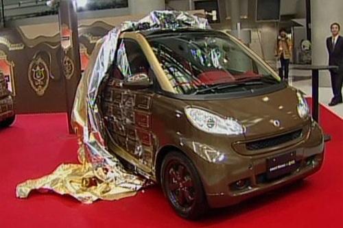 Шоколадный автомобиль Smart ForTwo
