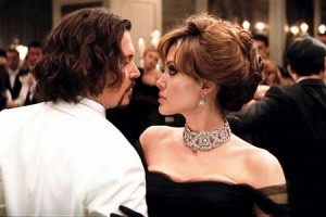 Johnny Depp и Angelina Jolie