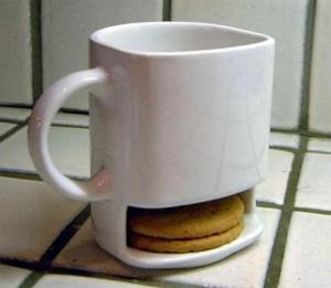 Прикольная чашка с заначкой