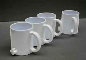 Прикольные чашки в ряд