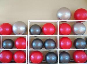 Выбор гимнастического мяча