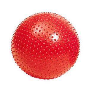 Гимнастический мяч с пупырышками