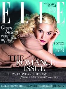 Гвен Стефани на обложке Elle (apr. 2011) фото 1
