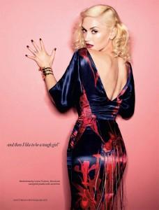 Гвен Стефани на обложке Elle (apr. 2011) фото 5
