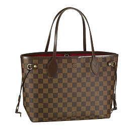 Louis Vuitton Ebene Canvas - модная женская сумочка 2011