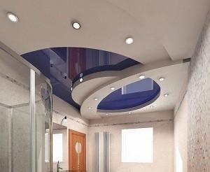 Шовный натяжной потолок