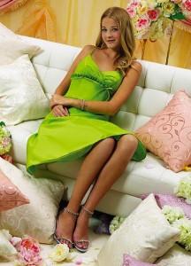 Зеленый наряд