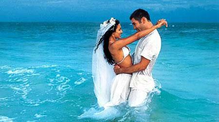 Свадьба в райском уголке