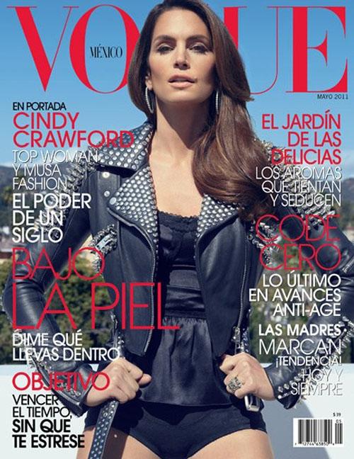 Синди кроуфорд в журнале vogue mexico май