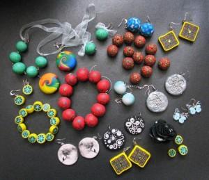 Как делать украшения из полимерной глины