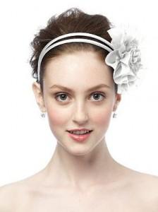Свадебные украшения: повязка на волосы (фото 3)
