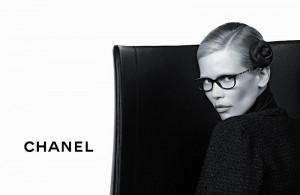 Клаудия Шиффер и коллекция очков Chanel (фото 1)