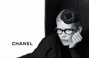 Клаудия Шиффер и коллекция очков Chanel (фото 2)