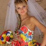 Этнические свадебные платья