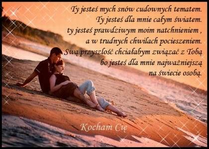 Любовные СМС на польском с переводом