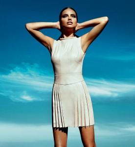 Адриана Лима в весенней коллекции одежды (2012) от Forum 1