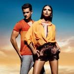 Адриана Лима в весенней коллекции одежды (2012) от Forum 3