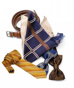 Выбор платка, галстука и ремня