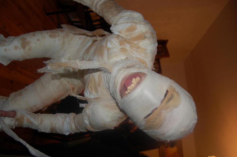 Костюм на Хэллоуин своими руками