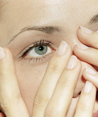 Техника выполнения массажа для глаз