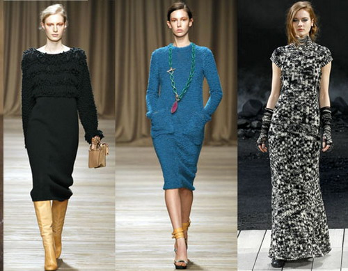 Платья осень–зима 2011/2012