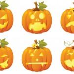 Шаблоны для тыкв на Хэллоуин