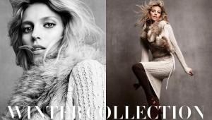 Аня Рубик и зимняя коллекция одежды H&M 2011 (фото 1)