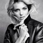 Аня Рубик и зимняя коллекция одежды H&M 2011 (фото 3)
