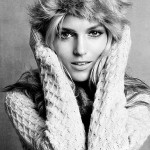 Аня Рубик в зимней коллекции H&M 2011 (фото)
