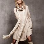 Аня Рубик и зимняя коллекция одежды H&M 2011 (фото 8)