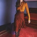 Анок Лепер на обложке Elle Russia ноябрь 2011 (фото 3)