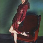 Анок Лепер на обложке Elle Russia ноябрь 2011 (фото 4)