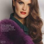 Анок Лепер на обложке Elle Russia ноябрь 2011 (фото 7)