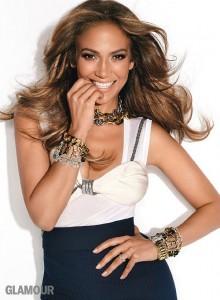 Дженифер Лопес на обложке Glamour US декабрь 2011 (фото 2)