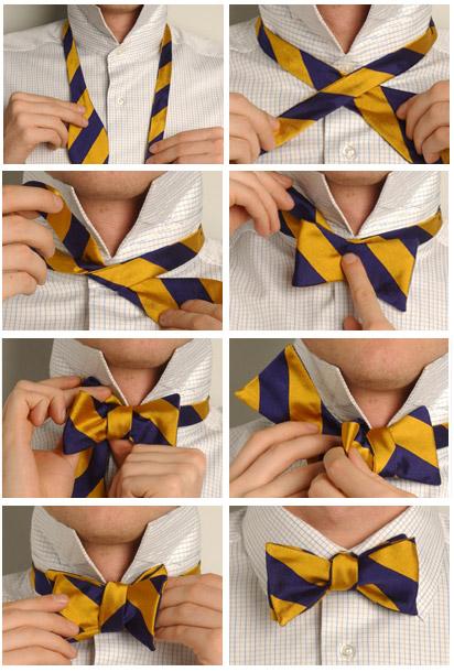 Инструкции как завязать галстук