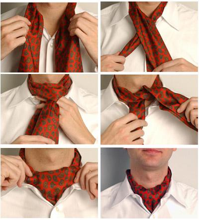 Инструкция завязывать галстук