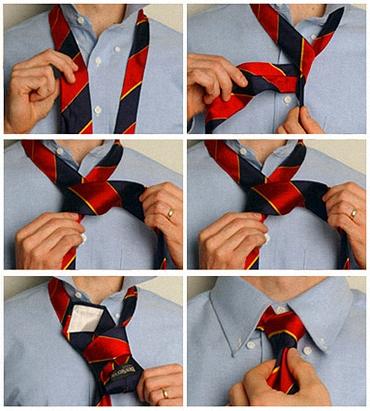 Инструкции завязывать галстук