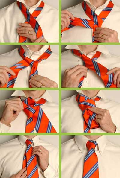 Инструкция как завязывать галстук