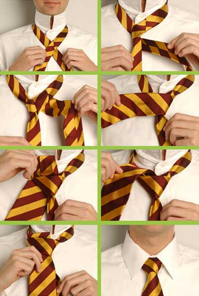 Инструкции как завязывать галстук
