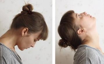 Упражнения головы