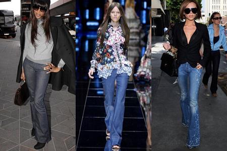 Модные джинсы 2012 - 9