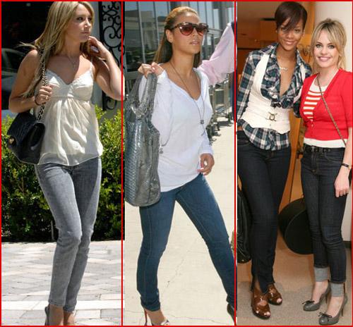 Модные джинсы 2012 - 10