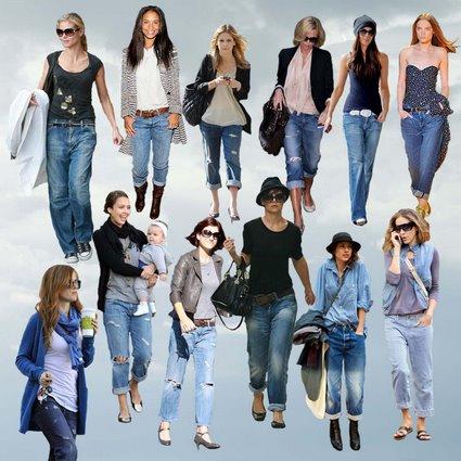 Модные джинсы 2012 - 11
