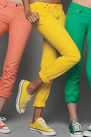 Модные джинсы 2012 - 4