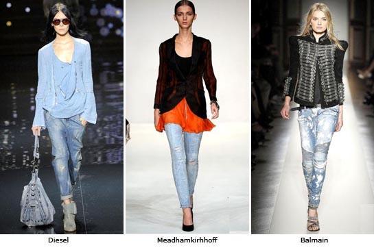 Модные джинсы 2012 - 8