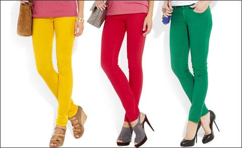 Модные джинсы 2012 - 2
